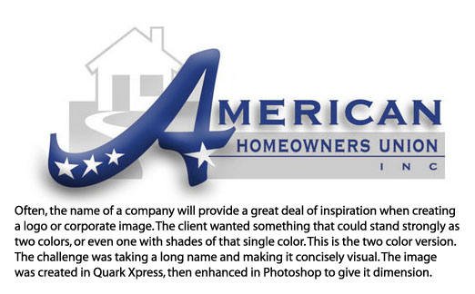 American Homeowners Union, Inc. by Underdog Graphics